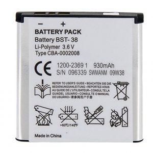 باتری موبایل سونی اریکسون C510 با کدفنی BST-38