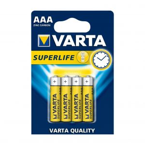 3391b5eea5ff397643655fc23f0e05c4f25b4d67 1 300x300 - باتری نیم قلمی Super Life وارتا(4تایی)