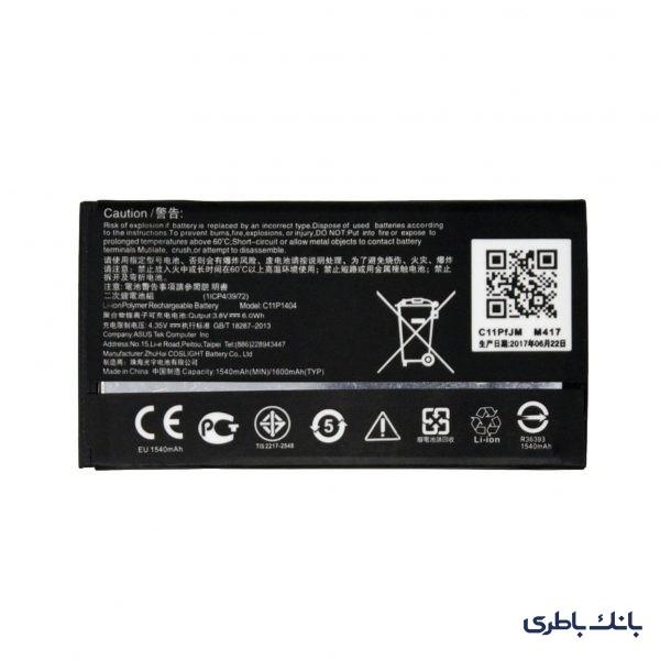 باطری موبایل ایسوس Zenfone 4 A400CG با کد فنی C11P1404