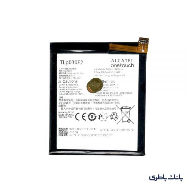 باطری موبایل بلک بری DTEK60 با کد فنی TLP030F2