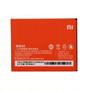 باتری موبایل شیائومی Redmi Note 2 با کد فنی BM45