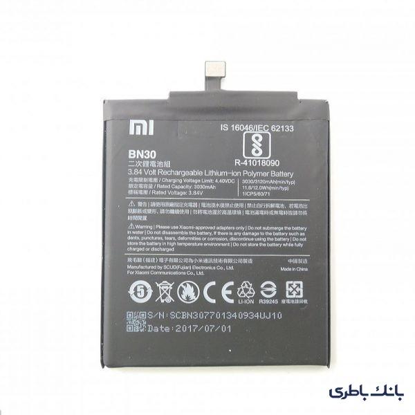 باطری موبایل شیائومی REDMI 4A با کد فنی BN30