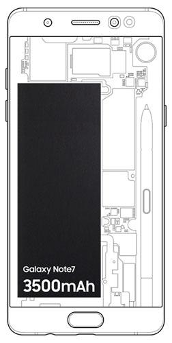 Note7 38 - باتری موبایل سامسونگ Galaxy Note 7 با کدفنی EB-BN930ABE