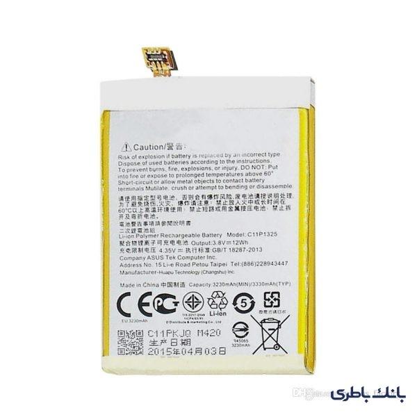 باطری موبایل ایسوس ZENPHONE 6 با کد فنی C11P1325