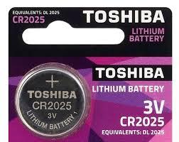 download 21 - باتری سکه ای توشیبا CR2025