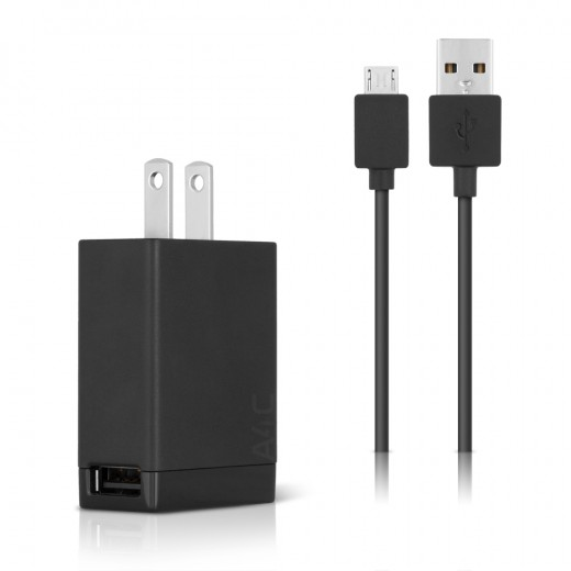 sony ep880 micro usb 1 5a wall charger main view
