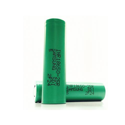 Samsung 25r Green - باتری لیتیوم آیون 18650 سامسونگ با ظرفیت 1500 میلی آمپر