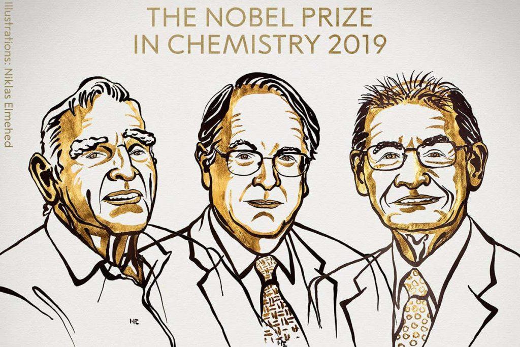 egbxeexw4aeviut 1024x683 - توسعه دهندگان باتری لیتیوم یونی برنده ی جایزه نوبل شیمی 2019 شدند!