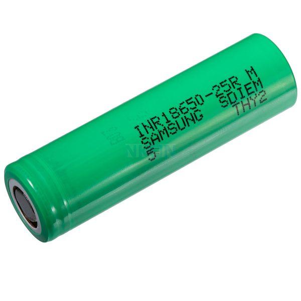 samsung 25r 03 2 600x600 - باتری لیتیوم آیون 18650 سامسونگ با ظرفیت 1500 میلی آمپر
