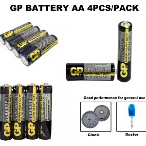 aa aaa gp supercell heavy duty battery 4pcs snapid 1902 22 snapid@2