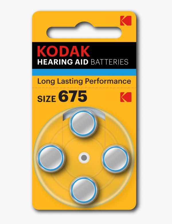 kodak size675 hearing aid