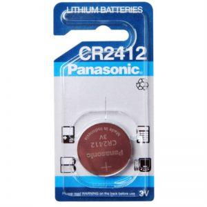 باتری سکه ای لیتیوم Panasonic سایزCR2412