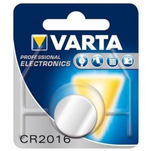باتری سکه ای لیتیوم Varta سایز CR2016