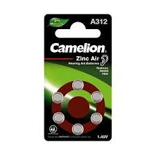 camelion size312 hearing aid