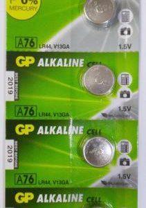 باتری سکه ای الکالاین GP سایز AG13  هرعدد