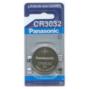 باتری سکه ای لیتیوم Panasonic سایز CR3032
