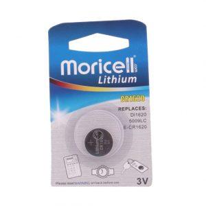 باتری سکه ای لیتیوم Moricell سایزCR1620