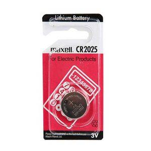 باتری سکه ای لیتیوم Maxell سایز CR2025