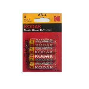باتری قلمی کوداک مدل Super Heavy Duty بسته چهار عددی