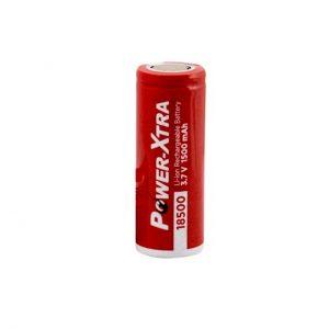 باتری لیتیوم یون قابل شارژ پاور اکسترا مدل 18500 ظرفیت 1500mAh