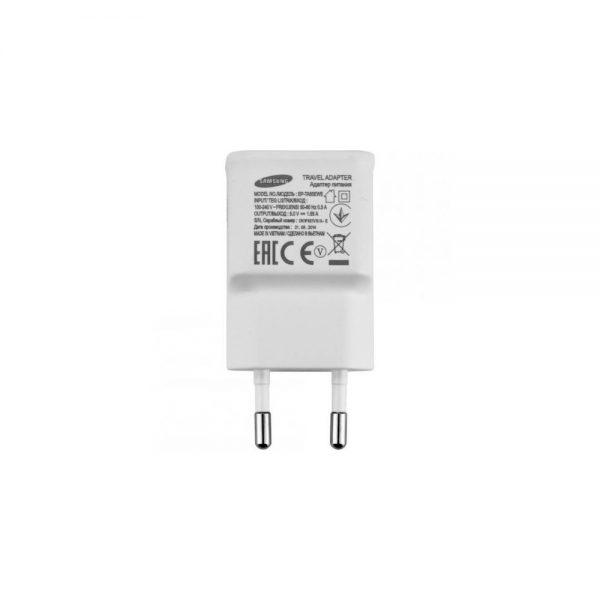Samsung 2 Pin EU Charger EP TA50EWE 1.55A White www.shopsmartuk.com